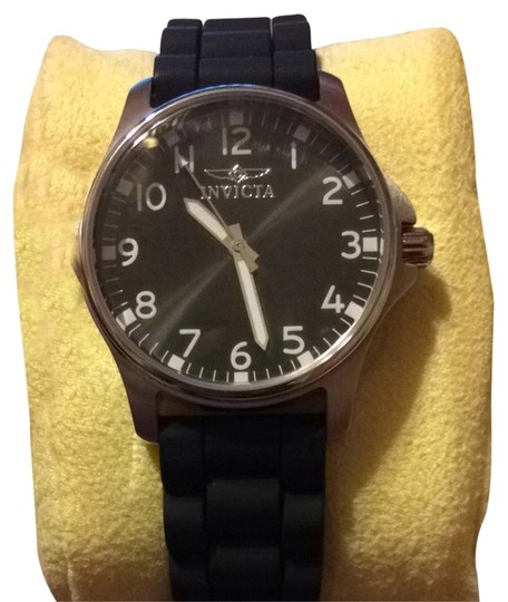 Invicta Black Invicta Jelly Watch