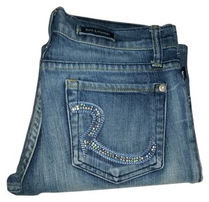 Rock & Republic Jewel Rs Capri/Cropped Denim-Distressed