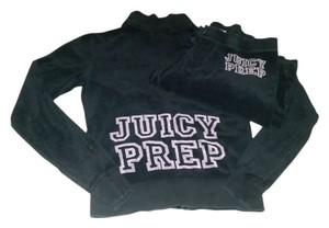 Juicy Couture Terry Cloth Prep School Pink Tracksuit Outfit Set Sweatshirt