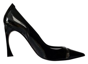 Dior Heels Patent Leather Black Pumps