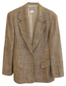 Saks Fifth Avenue Beige Blazer