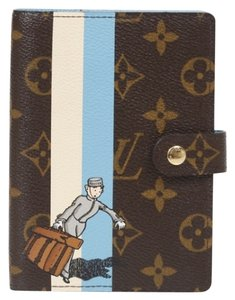 Louis Vuitton Authentic Louis Vuitton Monogram Groom/Porter Illustre Agenda PM