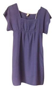 Maeve short dress Purple Anthropologie Kimono Empire Waist Womens on Tradesy
