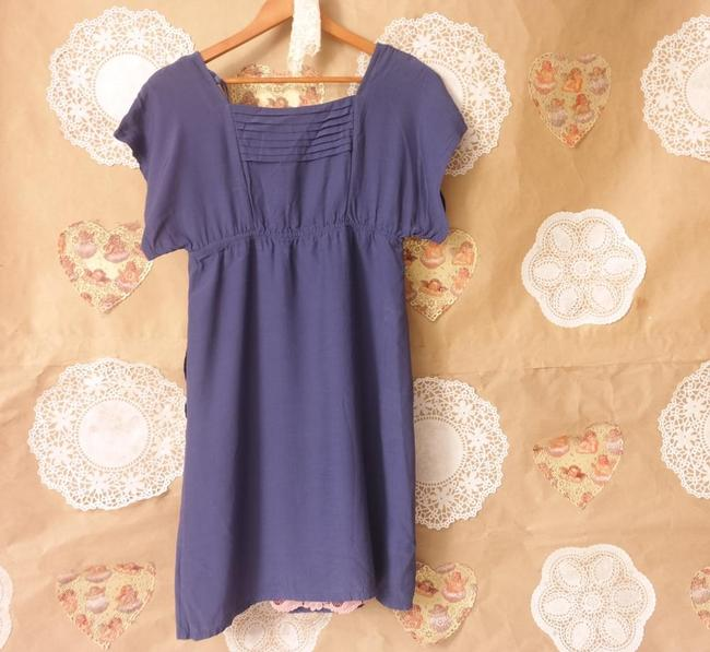 Maeve short dress Purple Anthropologie Kimono Sleeve Empire Waist Womens on Tradesy