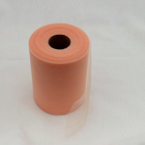 Peach Tulle Huge Roll - 100 Yd X 6 In Periwinkle Tulle Spool - Tulle Roll Free Ship