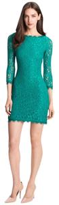 Diane von Furstenberg short dress Green Tory Burch Dvf Parker on Tradesy
