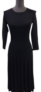 Hugo Boss Silk Knit Full Skirt Dress
