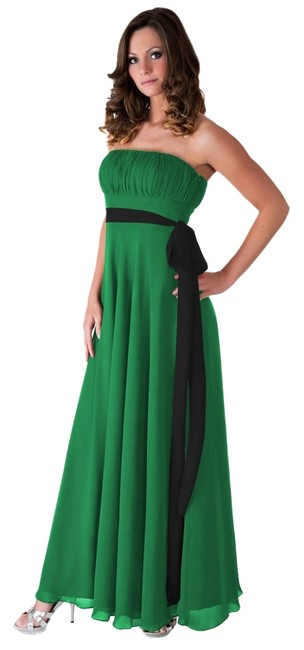 Preload https://item5.tradesy.com/images/green-strapless-pleated-bust-long-formal-dress-size-6-s-1228869-0-0.jpg?width=400&height=650