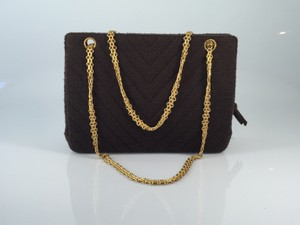 Chanel Vintage Fabric Shoulder Bag
