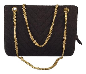 Chanel Vintage Fabric Day Shoulder Bag