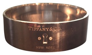 Tiffany & Co. Tiffany Locks wide bangle in sterling silver with diamonds