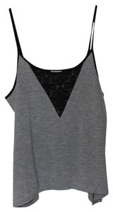 Old Navy Black Laced Xs Top Gray