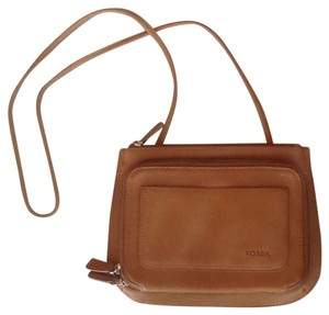Fossil Leather Cross Body Bag