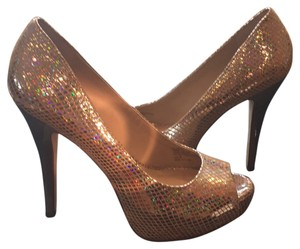 INC International Concepts Shimmery Nude. Platforms