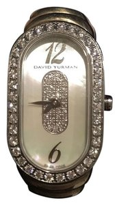 David Yurman Ladies Diamond, Silver and Mother of Pearl David Yurman Madison Watch RP $5400