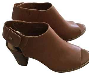 Cole Haan Tan Leather Mules