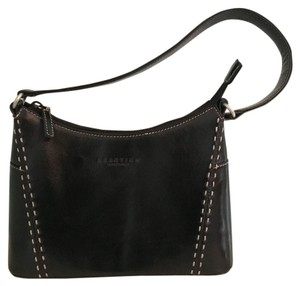 Kenneth Cole Reaction Leather Satchel in Black