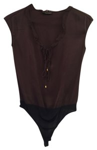 Tahari Top Brown