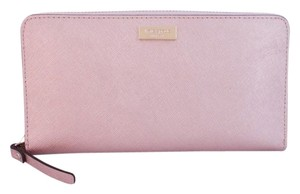 Kate Spade Neda Newbury Leather Wallet Rose Gold Clutch