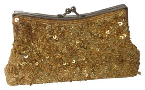 Other Gold, Silver Clutch