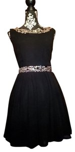 Other City Studio Vintage Audrey Sleeveless Gems 50s 1950 Retro Pinup Rockabilly Formal Prom Jewels Circle Skirt Dress