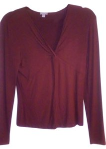Ann Taylor Top maroon..pictures show more of raspberry color