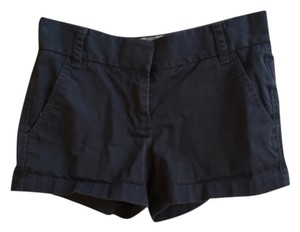 J.Crew Chino Broken In Mini/Short Shorts Navy
