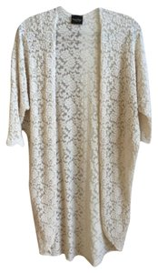 Audrey Lace Long Open Cardigan