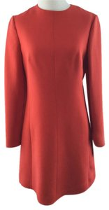 Valentino Red Crepe Dress
