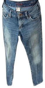Silver Jeans Skinny Jeans-Distressed