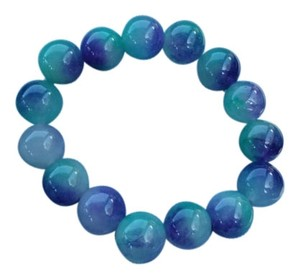 Purple and Blue Jade Bracelet