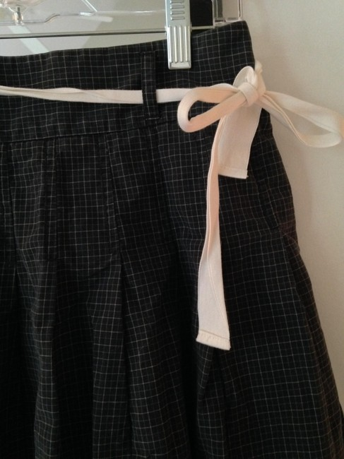 J.Crew Skirt Black and Blue Checkered