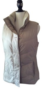 Banana Republic Down Fur Collar Vest