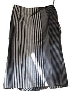 Paul Smith blue label Skirt Black and white stripes