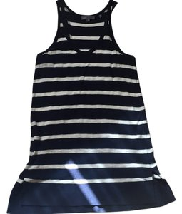 Vince Top Navy and white stripe