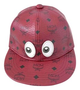 MCM 100% Authentic Limited Edition MCM Leather Hat