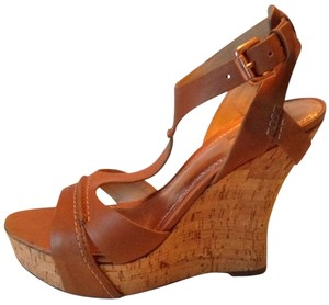 Belle by Sigerson Morrison Natural Tan Platforms