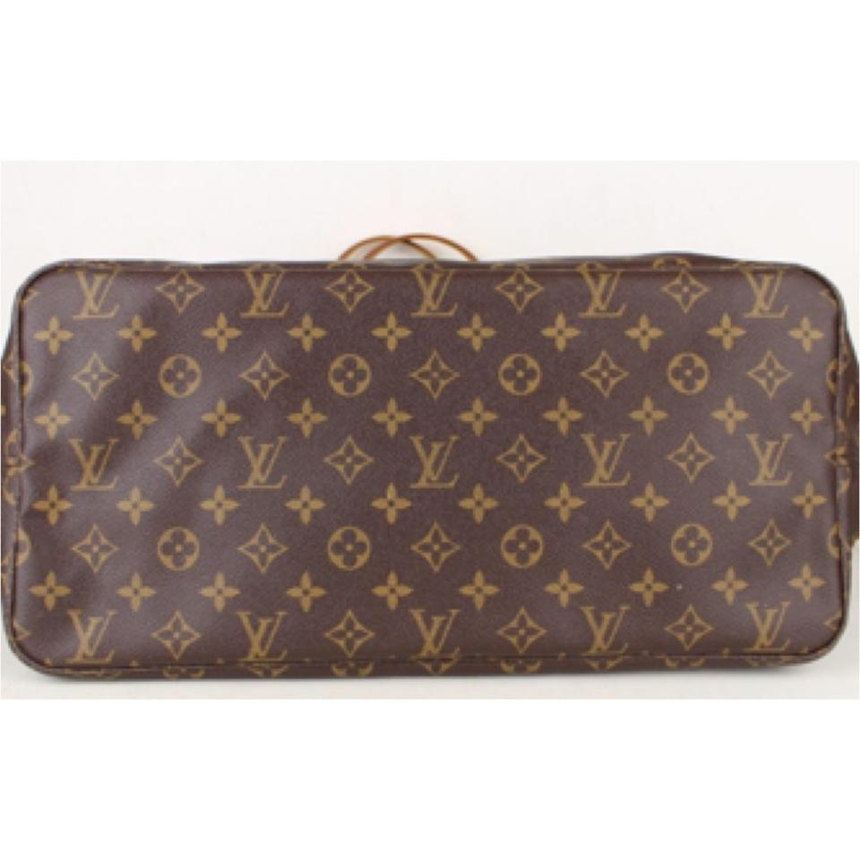 f28c6abe1434c Louis Vuitton Neverfull Gm with Lv Small Dustbag Brown Monogram Canvas Tote  - Tradesy