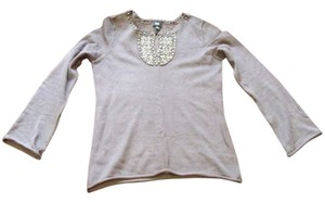 Mossimo Supply Co. Beaded Crochet Detailed Comfy Sweater