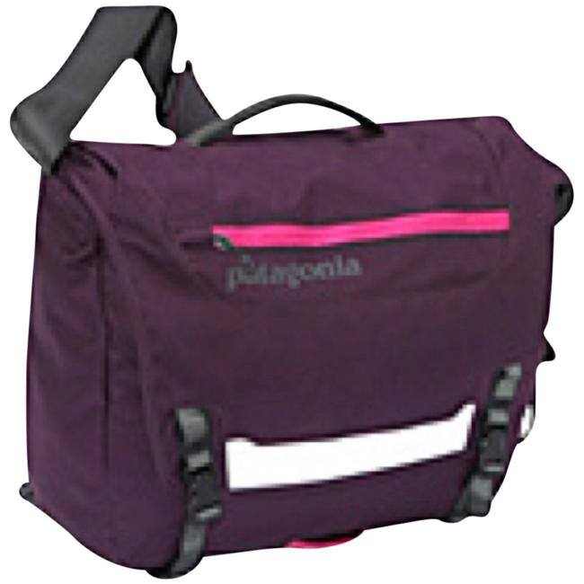 Item - Messenger Plum Laptop Bag