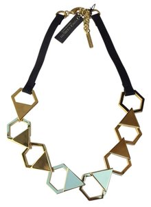 Vince Camuto Haute Hexagon Linked Necklace