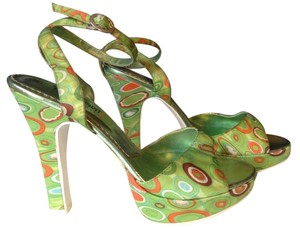 Young Spirit Lime Green Platforms