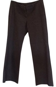 New York & Company Straight Pants Brown