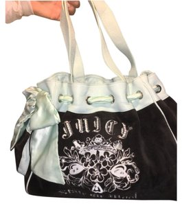 Juicy Couture Satchel in Black And Blue