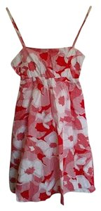 Splits59 short dress Red White Floral Floral on Tradesy