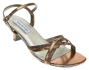 Touch Ups Bronze, Copper Sandals