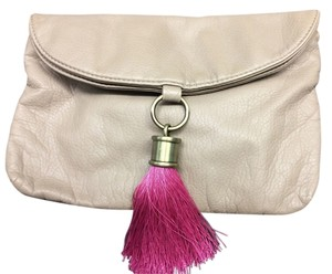 Tulu Leather tan Clutch