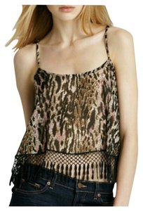 For Love & Lemons Top Leopard Print