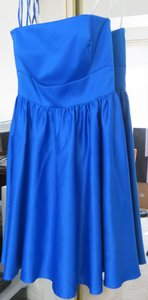 B2 Solid Royal Blue Jasmine Dress