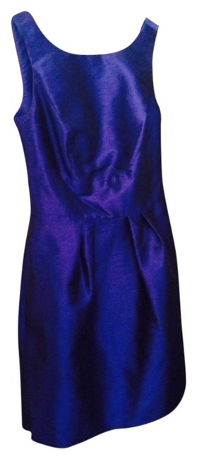 Preload https://item5.tradesy.com/images/alfred-sung-cobalt-open-back-bow-dress-electric-blue-1229959-0-0.jpg?width=400&height=650